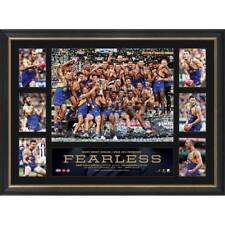 WEST COAST EAGLES 2018 AFL PREMIERS FRAMED OFFICIAL GRAND FINAL PRINT YEO SHUEY