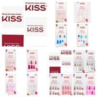 KISS JELLY FANTASY Translucent  Nails Glue-On Ballerina Shaped New Styles VHTF