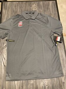 Indianapolis Motor Speedway Nike Dri Fit Golf Indy 500 Polo Shirt Size L NWT