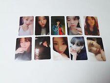 Taeyeon 1st My Voice Official Original Photocard set KPOP Girls' generation SNSD