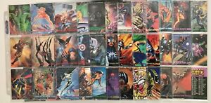 SkyBox Series I Marvel Masterpieces Tin Set ~ Complete with Tin Container