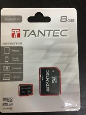 Tantec Class 4 micro SDHC 8GB Memory Card