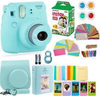FujiFilm Instax Mini 9 Instant Camera + 20 Fuji Film + Full Accessory Kit