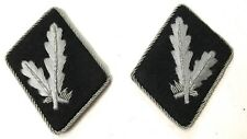 WWII GERMAN WAFFEN OBERFUHRER (Senior Leader) COLLAR TABS