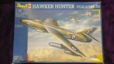 Revell 1:32 Hawker HUNTER FGA.9 / Mk.58 Fighter Model Kit #04703 *SEALED IN BAGS