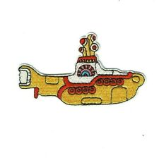 1 Écusson Brodé Thermocollant NEUF ( Patch ) - Yellow Submarine The Beatles