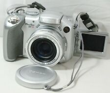 Canon PowerShot S2 IS Digital Point And Shoot Camera 5.0MP w/ Flip Screen Works!
