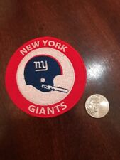 """NY New York Giants Vintage Rare Embroidered Iron On Patch  3"""" X 3"""""""
