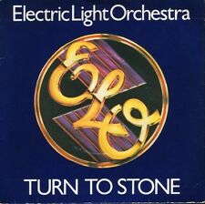 "ELECTRIC LIGHT ORCHESTRA turn to stone 7"" PS EX/VG uk"
