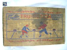 Vintage / Altes elektrisches Football Spiel aus Blech Tudor Tru Action 110 V USA