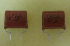 (10) 1uF 450V metalized polyester film capacitors ecq-e guitar tone