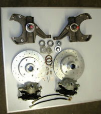 chevrolet c10 chevy truck 4 wheel disc brake conversion 6 lug standard spindles