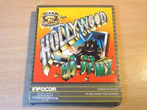 Commodore 64 Disc - Hollywood HiJinx by Infocom / Hi Jinx + Inserts