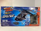 AIR HOGS RC BOEING AH-64D APACHE HELICOPTER NEW OPEN BOX - COLLECTOR DISPLAY HTF