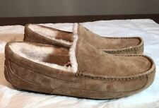 UGG Australia Men's Ascot Moccasin Slippers 5775 Chestnut SIZE 12 AUTHENTIC New*