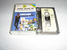 .K7PL1 BOF JAMES BOND 007 K7 AUDIO - 13 ORIGINAL FILM TH