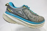 HOKA ONE ONE Bondi 4 Grey Sz 8.5 M Women Running Shoes