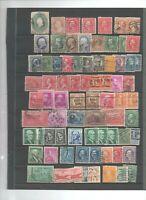 95 timbres USA avec anciens