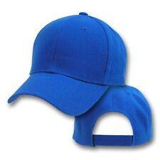 Big Size Royal Blue Adjustable Baseball Cap  2XL - 4XL  BIGHEADCAPS
