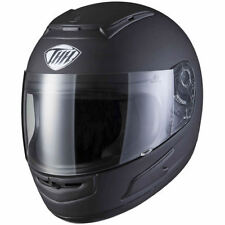 Gloss Boys' & Girls' Thermo-Resin Plain Motorcycle Helmets