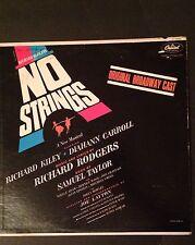 Richard Rodgers Presents No Strings: A New Musical Original Broadway Cast Vinyl