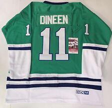 Kevin Dineen signed Hartford Whalers jersey autographed JSA 351701421