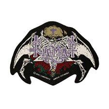 Tiamat Gothic Rock Band Logo Black Metal Merchandise Sew On Applique Patch