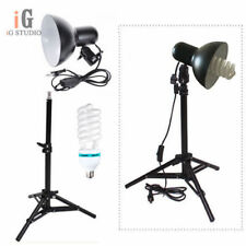 Continuous Lighting kit Swivel Lampshade + 40cm Light Stand + E27 220v 45w Bulb
