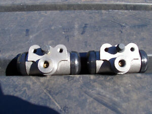 54 55 56 57 58 STUDEBAKER REAR WHEEL CYLINDERS PAIR LEFT + RIGHT  8 CYL