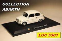 FIAT ABARTH 850TC CORSA 1963 PAR IXO POUR HACHETTE AU 1/43