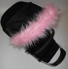 Pushchair pram pink Hood fur trim fit all models My babiie Icandy Bugaboo