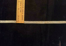 Vintage/Antique Cotton French Insertion Lace, Beige, 5 Yards