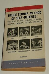 Karate 1960 Bruce Tegner Self Defense Judo/JiuJitsu/Savate/Yawara/Aikido/AteWaza