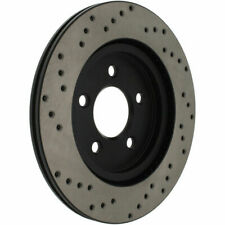 Disc Brake Rotor-High Performance Drilled Centric fits 05-08 Ford Mustang