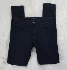 Joe's Jeans Women The Skinny Fit Slim Leg Dark Blue Denim Jeans Size 28W x 31L