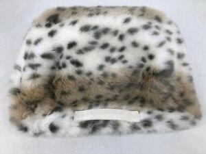 Pottery Barn Teen Lap Desk Leopard Animal Print Cushion Tray Computee Bed Fur