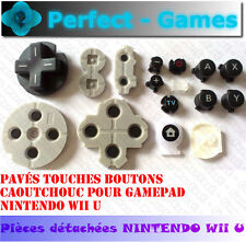 Set pavés boutons caoutchouc contact button rubber conductive gamepad Wii U