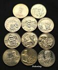 LOT OF ELEVEN COMMEMORATIVE COINS OF POLAND - POLISH SCIENTIST & DISCOVERERS