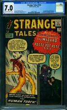 Strange Tales #110 CGC 7.0 Marvel 1963 1st Doctor Strange! Avengers! K10 2061 cm
