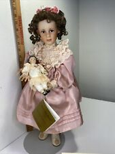 Mary Elizabeth and her Jumeau artist addition porcelain doll by Pamela Phillips