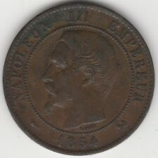 1954 B France Napoleon III 10 Centimes   Pennies2Pounds
