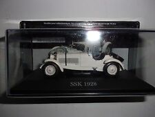 1/43 MERCEDES-BENZ SSK 1928 BLANC-IXO