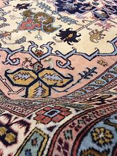 Spectacular Persian Orienta Area Rug 4 'X 6' Hand Knotted Medalion Carpet Woven