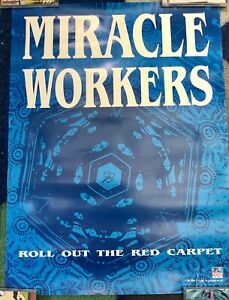 Miracle Workers Original Promo Poster 1991 Garage Punk Rock And Roll