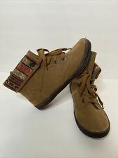 Blowfish Womens Size 8 Suede Tribal Print Boots Brown