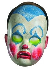 New Scary Halloween Costume Adult's Clown Doll Face Mask Facemask