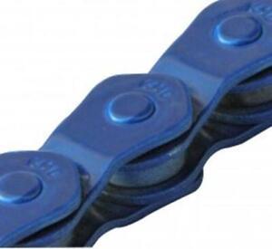 KMC Chain 1/2x3/32x 100-HalfLink 1/Speed Lowrider Freestyle Bike Cruisers BLUE