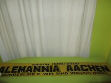 """Alemannia Aachen Schal """"SAISON 1999/2000 BUNDESLIGA 2 - WIR SIND WIEDER DABEI"""""""
