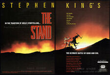 Stephen King's__THE STAND__Original 1993 Trade Print AD / poster__ABC TV promo