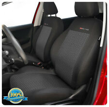 Front car seat covers fit Fiat Doblo -  front seats charcoal grey  (3)